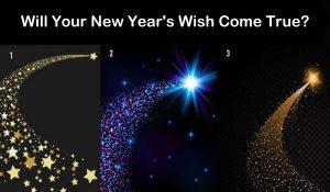 Il Desiderio del Tuo Nuovo Anno Diventerà Realtà? Scegli Una Stella Cadente e Ottieni Una Risposta!