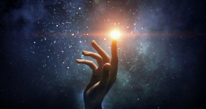Abbi fede nell'Universo.
