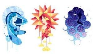 Luna, Sole o Stella? Scegli un'Immagine e Scopri che Tipo di Karma stai Seguendo