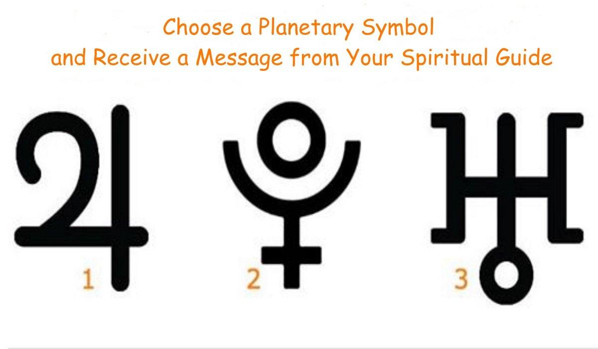 Scegli un Simbolo Planetario e Ricevi un Messaggio dalla Tua Guida Spirituale