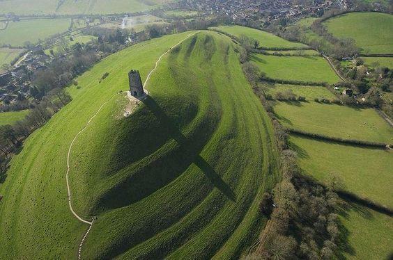 Glastonbury, Somerset e Shaftesbury, Dorset