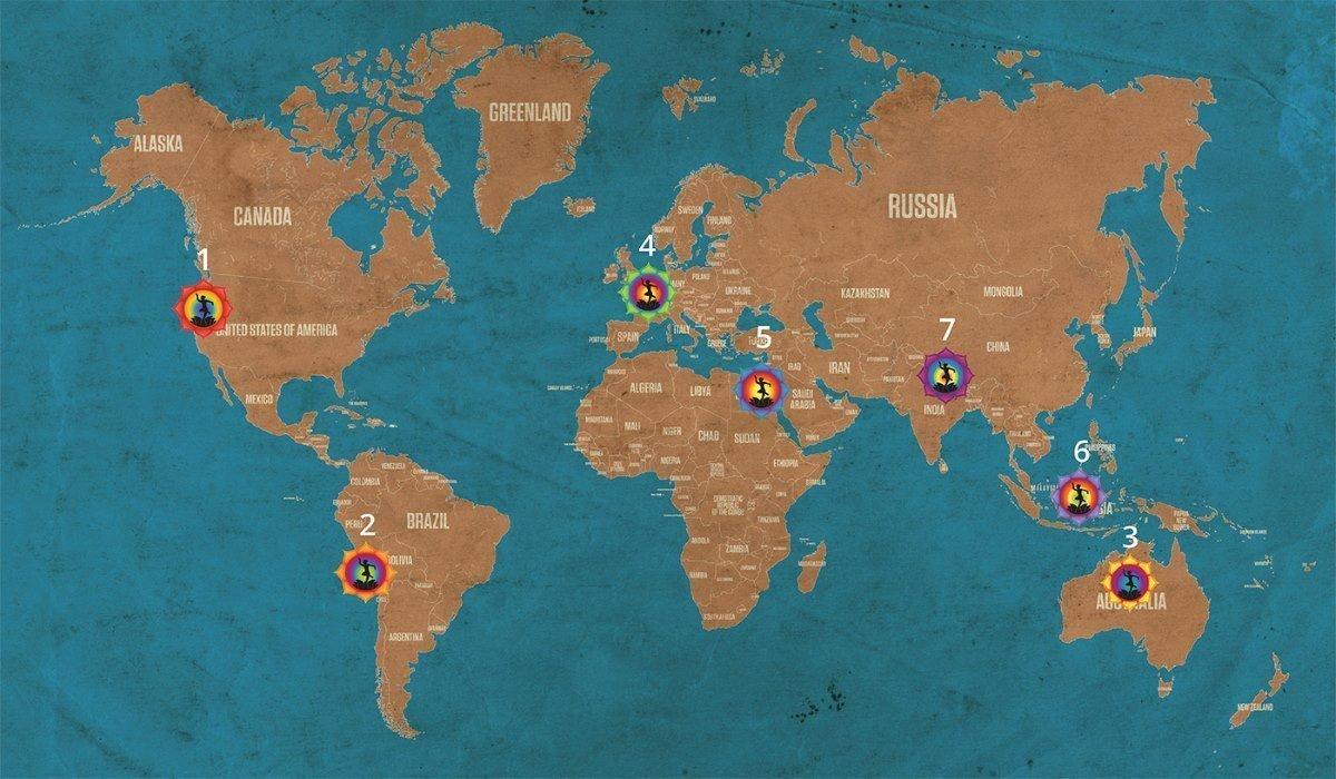 I Chakra della Terra, Ecco i 7 Luoghi Potenziali per l'Alta Energia