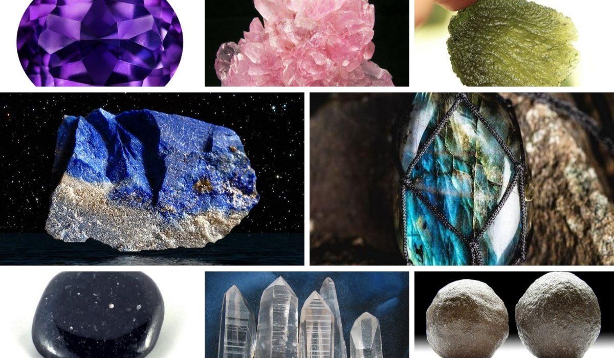 Questi 8 Cristalli ti Aiuteranno nel tuo Viaggio di Crescita Interiore